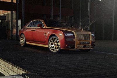 Mansory доработал Rolls-Royce Ghost Series II