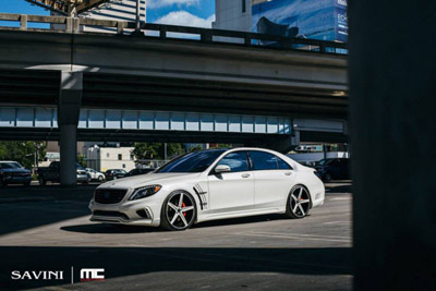 Mercedes-Benz S550 W222 в исполнении MC Customs