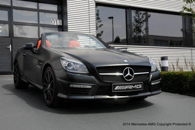 Mercedes-Benz SLK 55 AMG от AMG Performance Studio